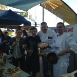 Cooking demos during Food Fest